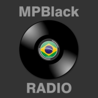 Logo of radio station Radio MPBlack