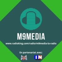 Logo of radio station M9Media La Radio