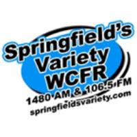 Logo of radio station WCFR