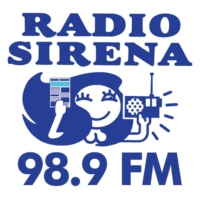 Logo of radio station Radio Sirena 98.9 FM