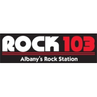 Logo of radio station WJAD Rock 103