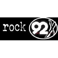 Logo of radio station ROCK 92X