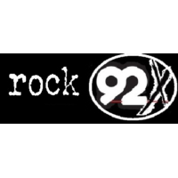 Logo of radio station ROCK 92X