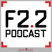 Logo of the podcast f2.2 fotografía con fotomaf