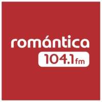 Logo of radio station Romántica FM 105.7 FM