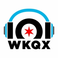 Logo of radio station 101 WKQX