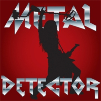 Logo of radio station SomaFM: Metal Detector