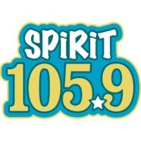 Logo de la radio KFMK Spirit 105.9