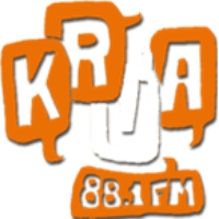 Logo of radio station KRUA The Edge