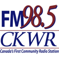 Logo of radio station CKWR
