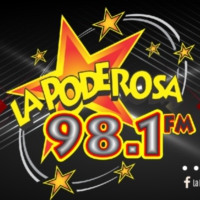 Logo of radio station XHWX La Poderosa 98.1 FM