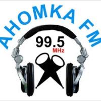 Logo de la radio Ahomka 99.5FM