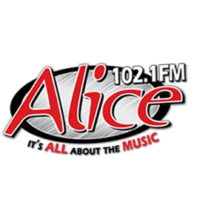 Logo of radio station KCKC Alice