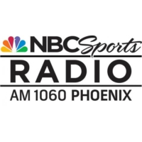 Logo of radio station KDUS NBC Sports Radio AM 1060