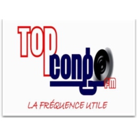 Logo of radio station Top Congo FM