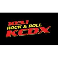 Logo of radio station KCDX 103.1 FM
