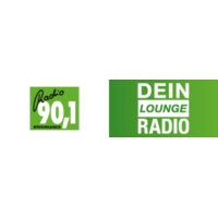 Logo of radio station Radio 90.1 – Dein Lounge Radio