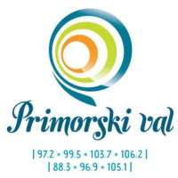 Logo of radio station Primorski val