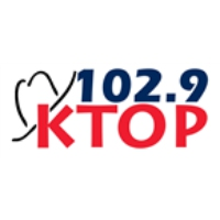 Logo of radio station KTOP 102.9