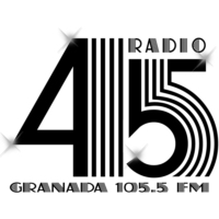 Logo of radio station Radio 45 Granada
