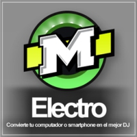 Logo of radio station La Mega Electro