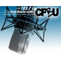 Logo of radio station CFBU