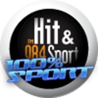 Logo of radio station Hit et sport : 100% Sport