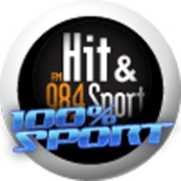 Logo of radio station Hit et sport : 100% Sport