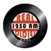 Logo of radio station WARE Real Oldies 1250