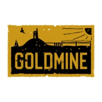 Logo of radio station South West's Goldmine