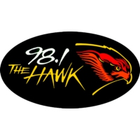 Logo of radio station WHWK 98.1 The Hawk