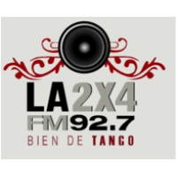 Logo of radio station La 2x4
