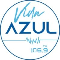 Logo of radio station XHTVR Vida Azul 106.9