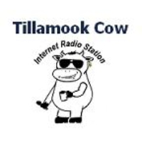 Logo of radio station Tillamook Cow
