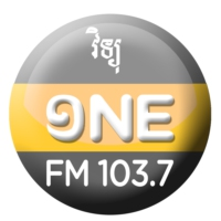 Logo of radio station Radio One FM 103.7