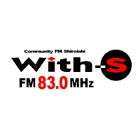 Logo of radio station FM Shiroishi With-S 83.0
