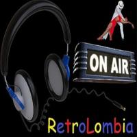 Logo de la radio Retrolombia Stereo
