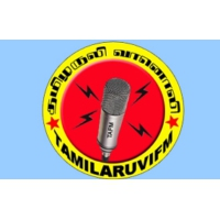 Logo of radio station Tamil Aruvi