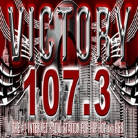 Logo of radio station Victory 107.3