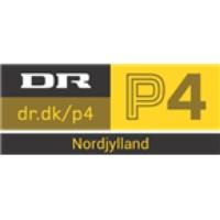 Logo of radio station DR P4 Nordjylland 98.1 FM Aalborg