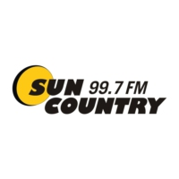 Logo of radio station CFXO-FM Sun Country 99.7