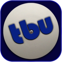 Logo of radio station theBlueUnderground