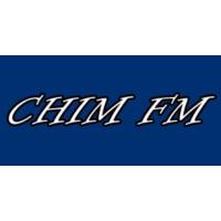 Logo of radio station CHIM FM