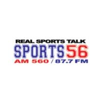 Logo of radio station WHBQ Sports 56