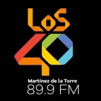 Logo of radio station XHHU LOS40 89.9 FM