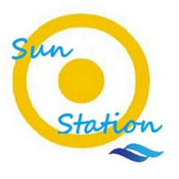 Logo of radio station SunStation Radio