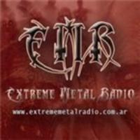 Logo of radio station Extreme Metal Radio
