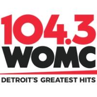 Logo de la radio 104.3 WOMC