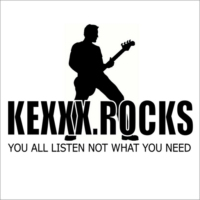 Logo of radio station KEXXX.Rocks