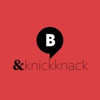 Logo of radio station & KnickKnack. Von barba radio